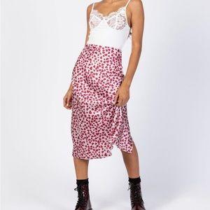 princess polly silk skirt
